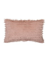 Bloomingville Cushion 100% cotton - pink - 50x30cm - Bloomingville