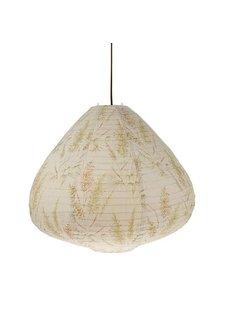 HK Living fabric lantern vintage reeds - Ø65cm - HK Living