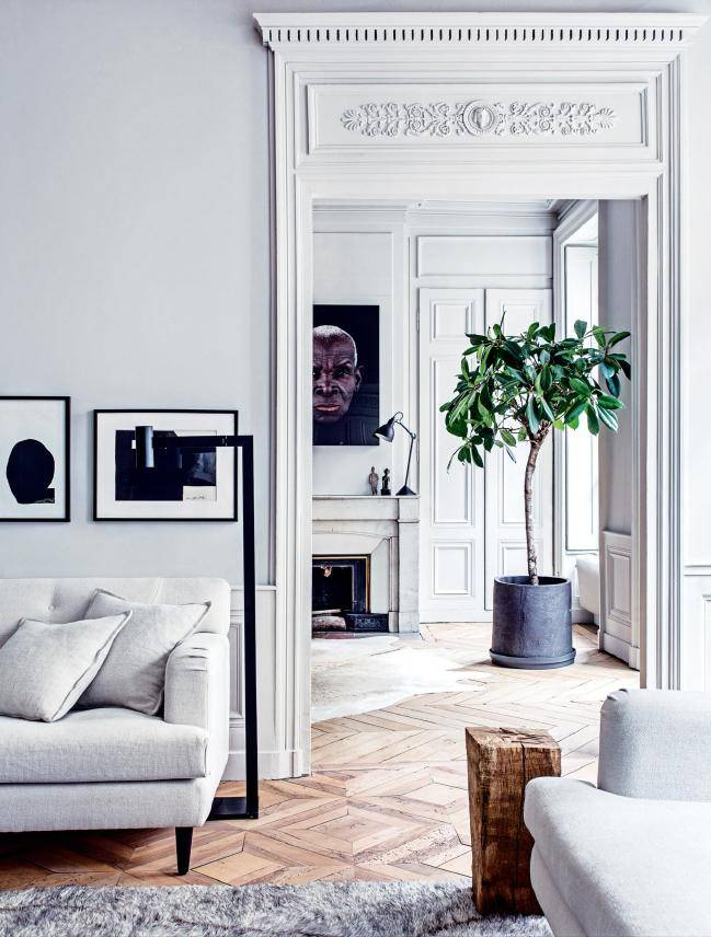 According to Vogue Living vogue living this might be the most beautiful French apartment in the world.  - seen at Vogue Living