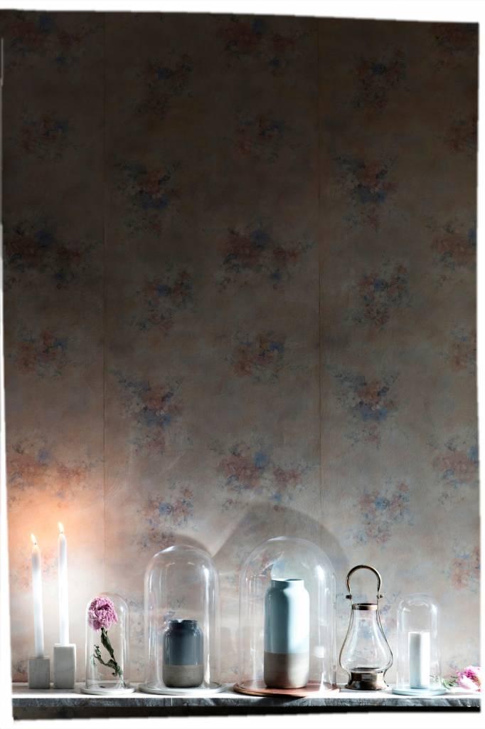 Bloomingville Cloche de verre et cuir - Ø14xh25cm - Bloomingville