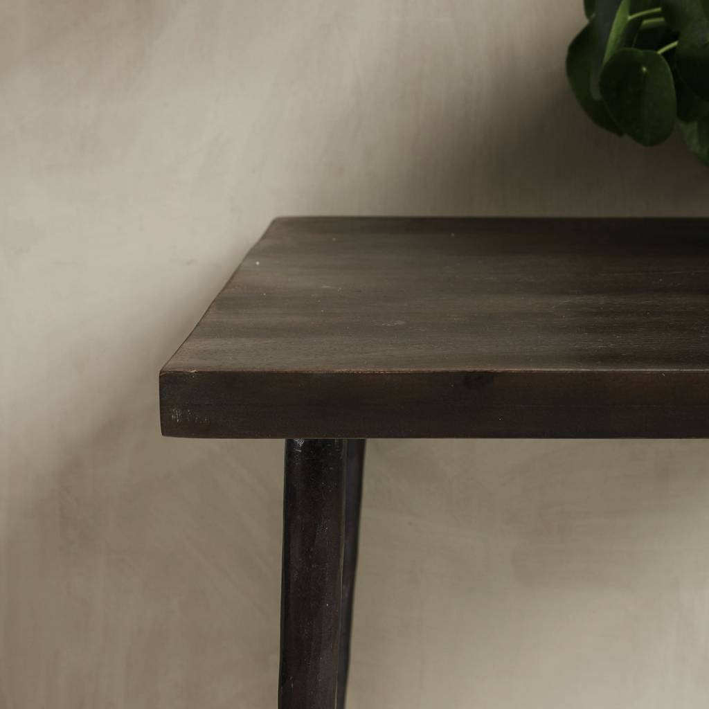 House Doctor Table de salle à manger - bois - 70x70xh76cm - House Doctor