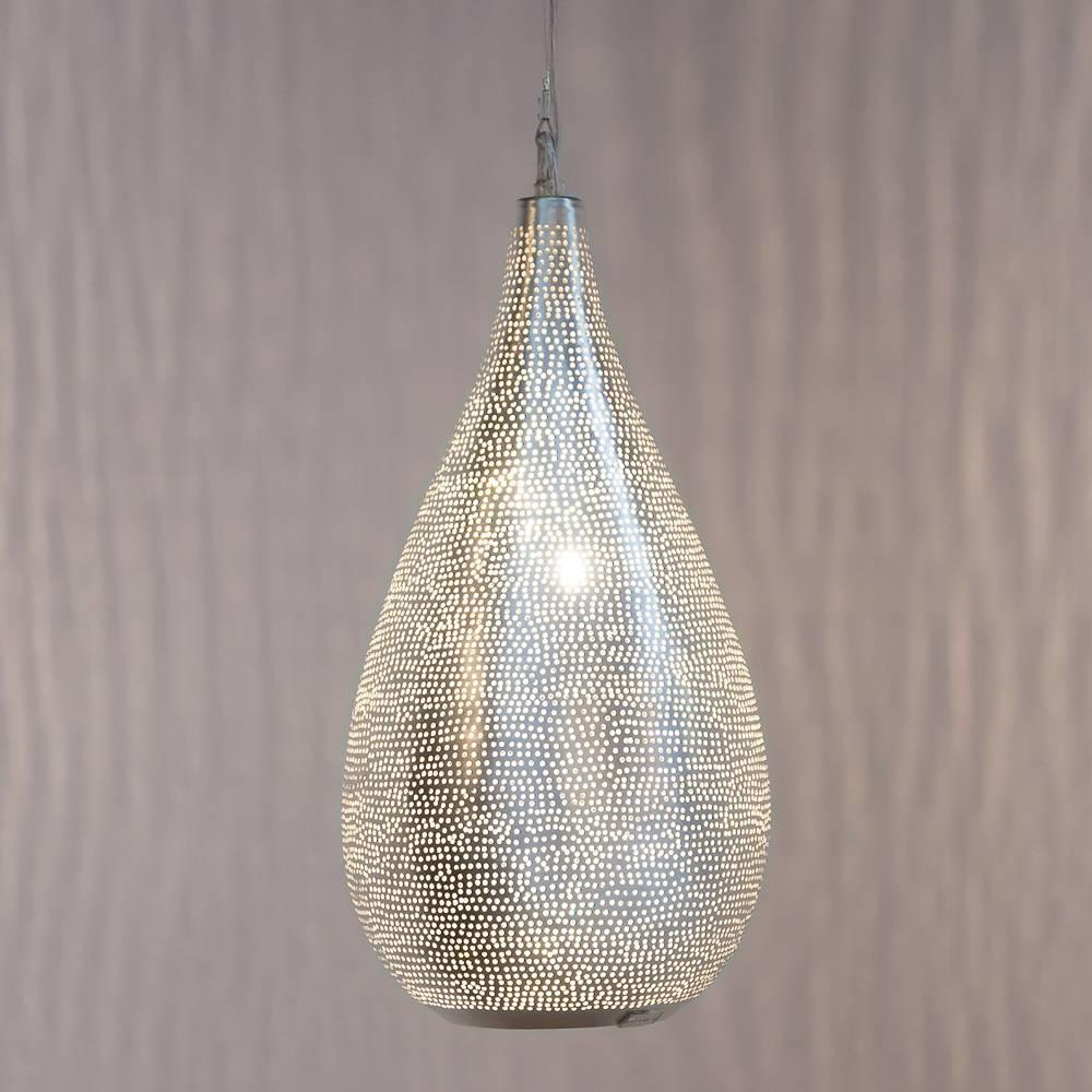Zenza Pendant Lamp Elegance Filisky Small Silver - silver - Zenza