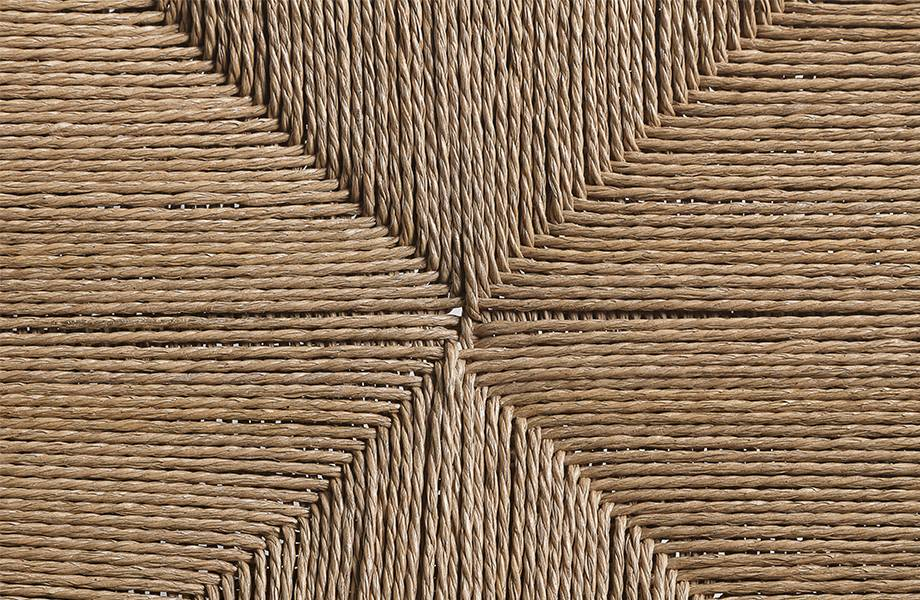 Dareels Chaise ROB en bois et corde - Naturel - Dareels