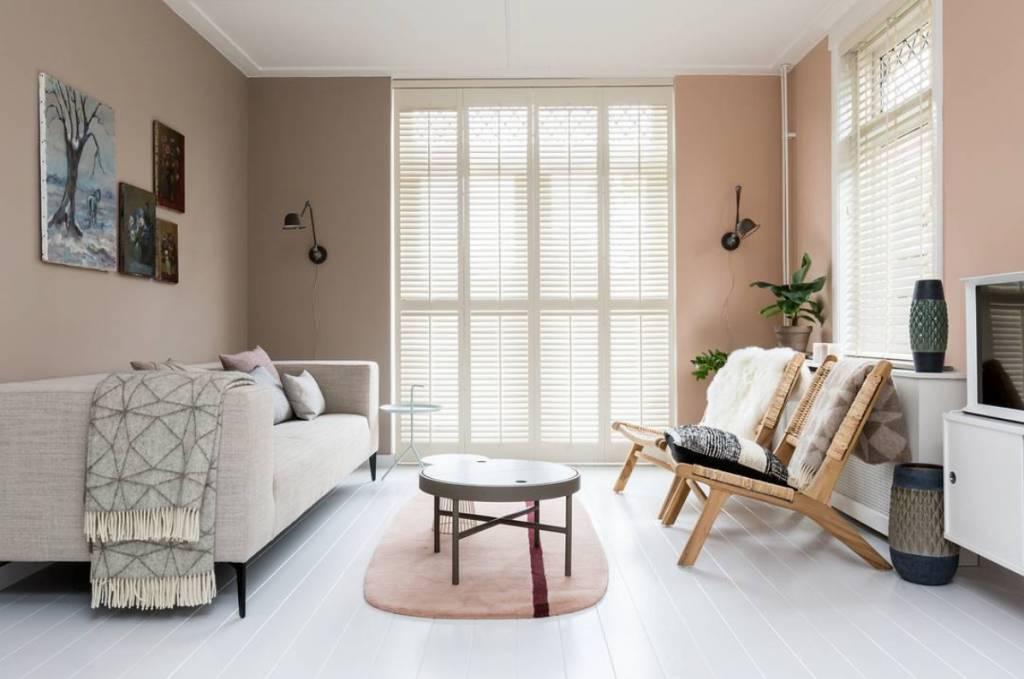 HK Living Sillón Lounge en ratán et madera - Natural - HK Living