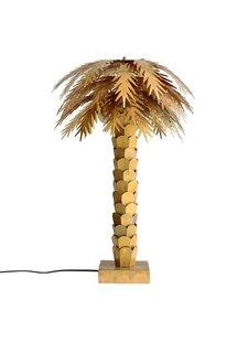 HK Living Lámpara de mesa palma - laton - Ø45x68cm - HK Living
