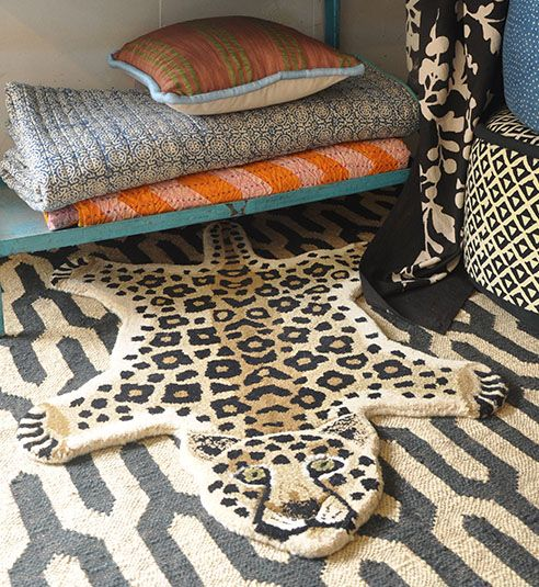 Doing Goods Bambi rug large - 100x60xh2cm - Doing Goods