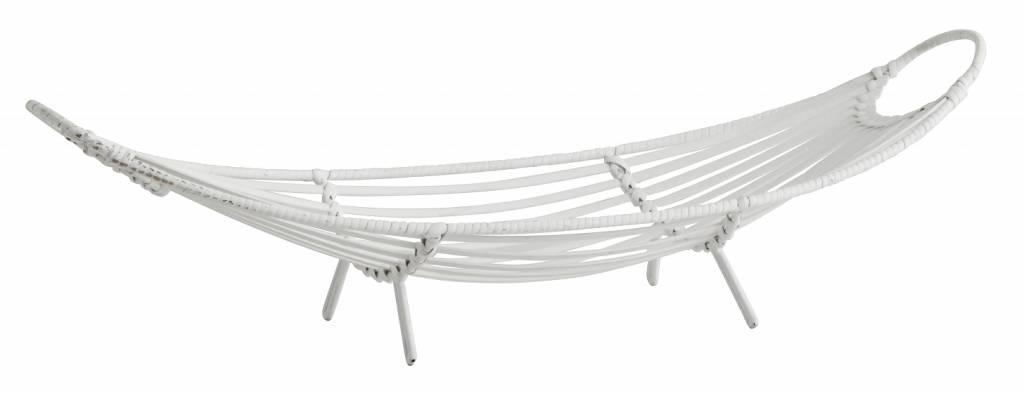Nordal Bamboo tray - 65x21xh17cm - white - Nordal