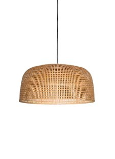 Ay Illuminate Bamboo Pendant Lamp Doppio Grid - Natural - Ø80x41cm - Ay illuminate