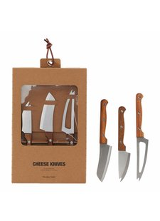 Cheese Knives set of 3  - Nicolas Vahé