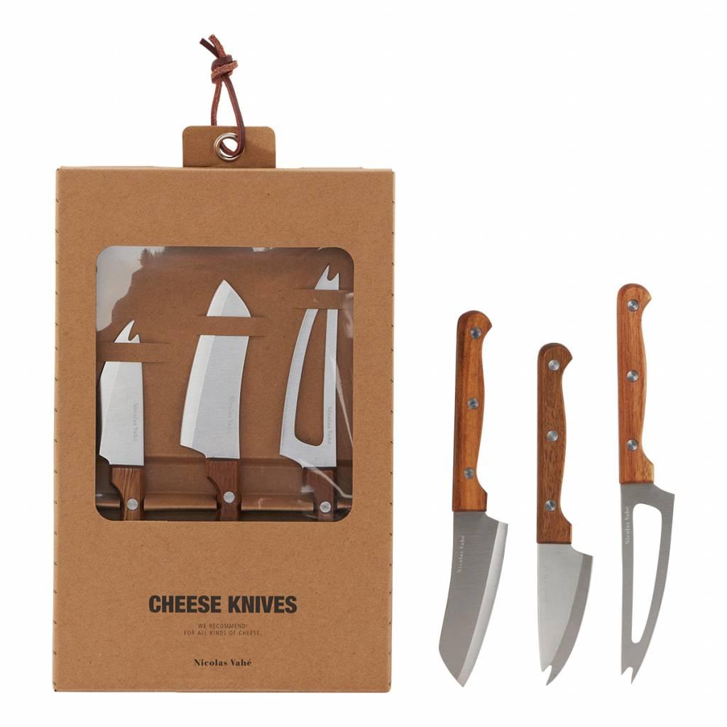 Cheese Knives set of 3  - Nicolas Vahé