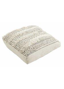 Nordal floor cushion 80x80cm - macramé - Nordal