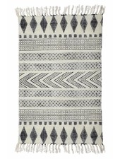 House Doctor Alfombra Gris y Negro - 90x200cm - House Doctor