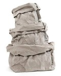 Uashmama Sac en Papier Lavable Gris - Uashmama