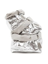 Uashmama Bolsa de papel lavable - Plateada - Uashmama