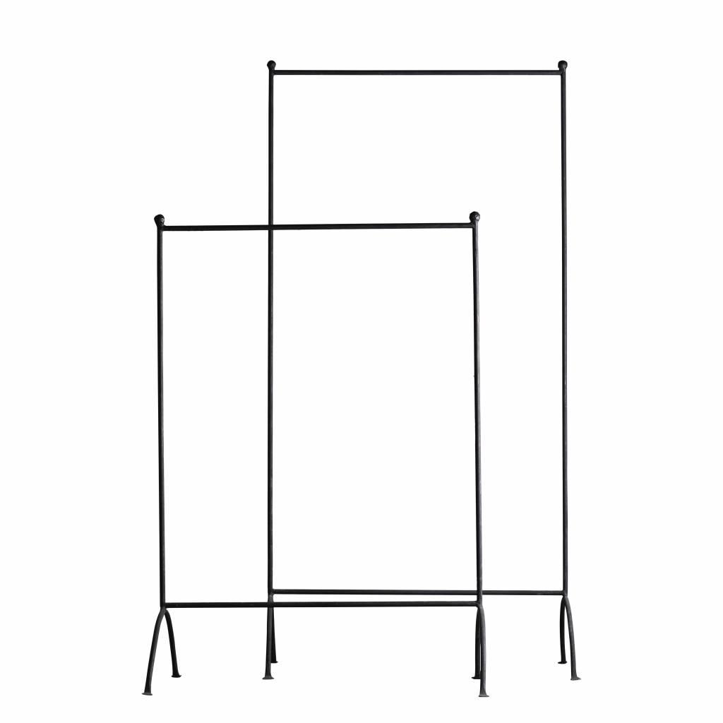 TineKHome Perchero Industrial - Negro - 100x160cm - TinekHome