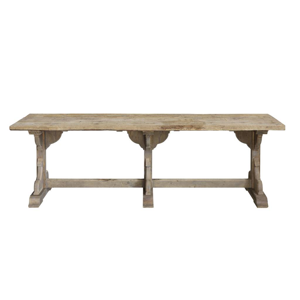 Bloomingville Chateau Dining Table, Nature, Wood - 245cm - Bloomingville