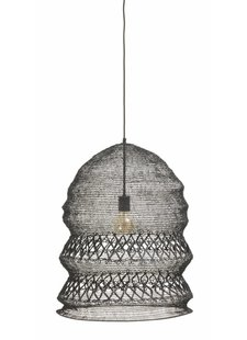 Nordal Hanging lamp in black wire/thread  - Ø50xh62cm - Nordal
