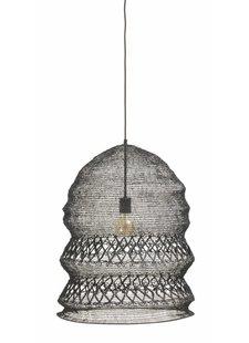 Nordal Lámpara de Metal WIRE - negro - Ø50xh62cm - Nordal