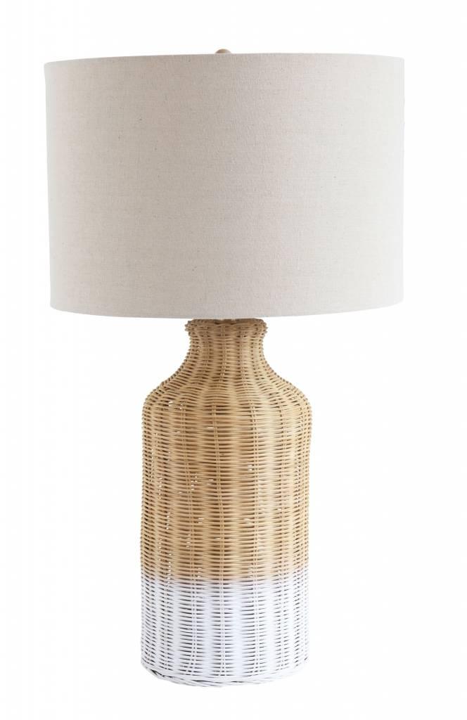 Bloomingville Fleur de sel Table lamp, Nature, Bamboo - Ø18xh68cm - Bloomingville