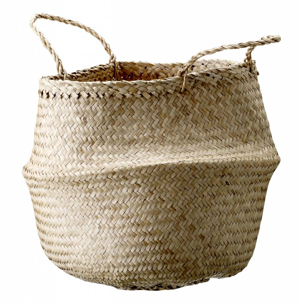 Bloomingville Seagrass basket - natural - Ø35xH40 cm - Bloomingville