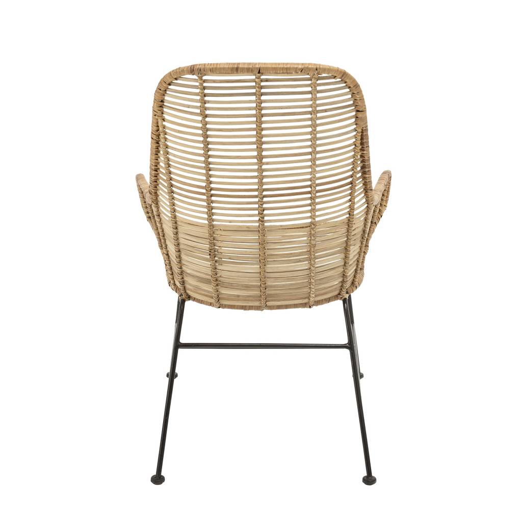 Bloomingville Rattan Lounge Chair LAKE - Natural - Bloomingville