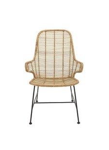 Bloomingville Rattan Lounge Chair LAKE - Natural - Bloomingville