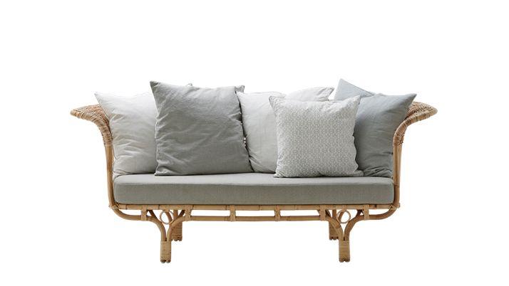 Bloomingville Rattan bench / Sofa Belladonna -  natural - 195cm - SIKA