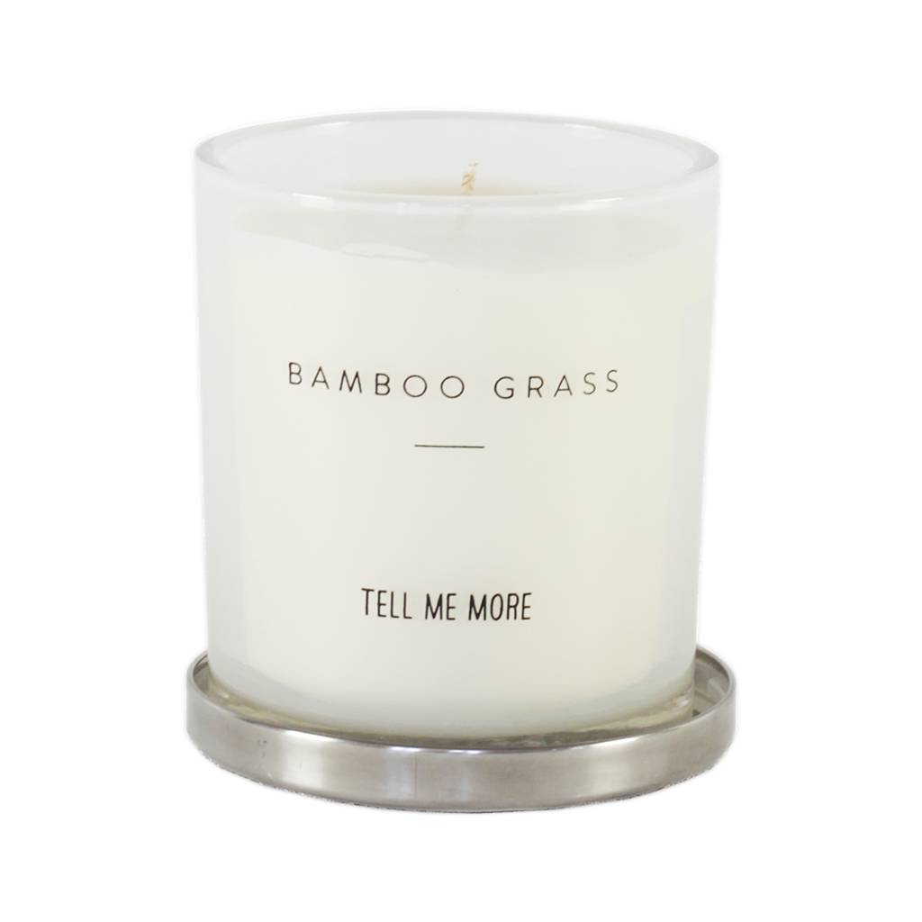 Tell me more Scented candle - Bamboo Grass - Tell Me More