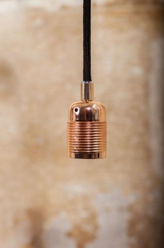 Frama Kit de Suspensión cable/enchufe E27 Cobre-Frama