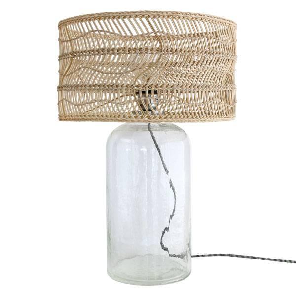 HK Living Wicker Bottle Lamp - 40xh59cm - HK Living
