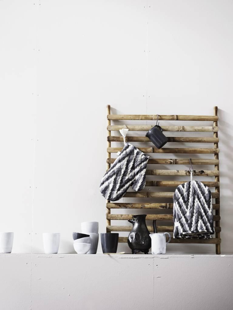 TineKHome Bamboo wall hanger deco, 60x80, natural - Tinek Home