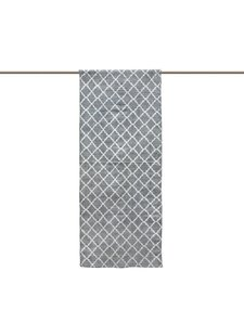 Tell me more Tapis Scandinave en coton lavé - Gris - 80x200cm - Tell me more