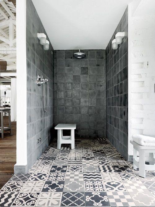 Loft au style Industriel rustique par le designer italien Poala Navone - Vu sur Elle Deco Italie