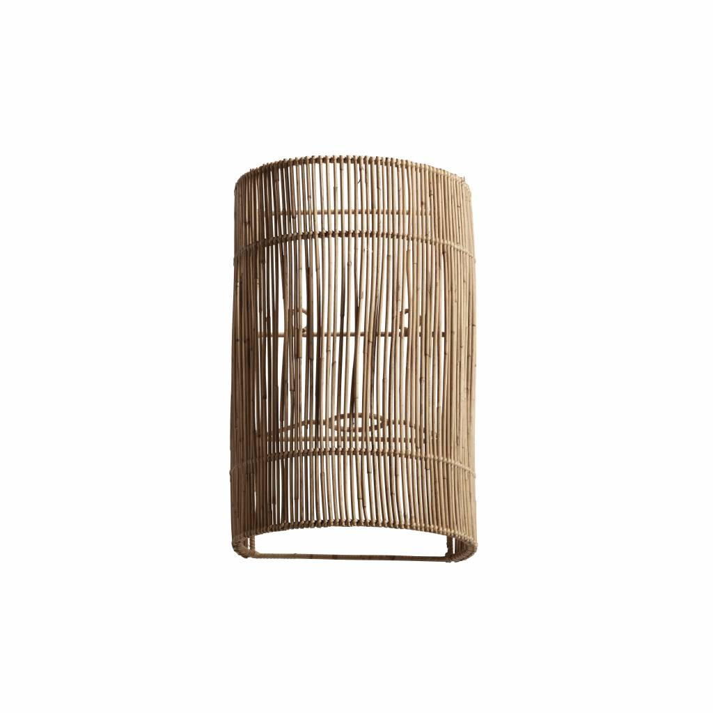 TineKHome Wall lamp in rattan - 20x15xH32 cm - TinekHome