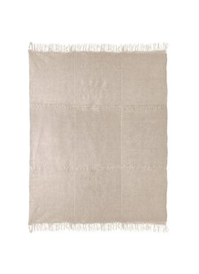 HK Living Linen Rug with anti slip - natural - 230x320cm - HK Living