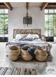 Une chambre à l' ambiance bohème chic - vu sur Marie Claire Maison