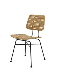 HK Living rattan desk chair natural - HK Living
