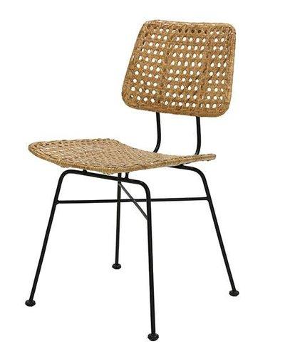 Rattan Desk Chair Natural Hk Living