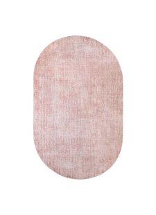 HK Living Alfombra ovalada de viscosa - nude - 150x240cm - HK Living