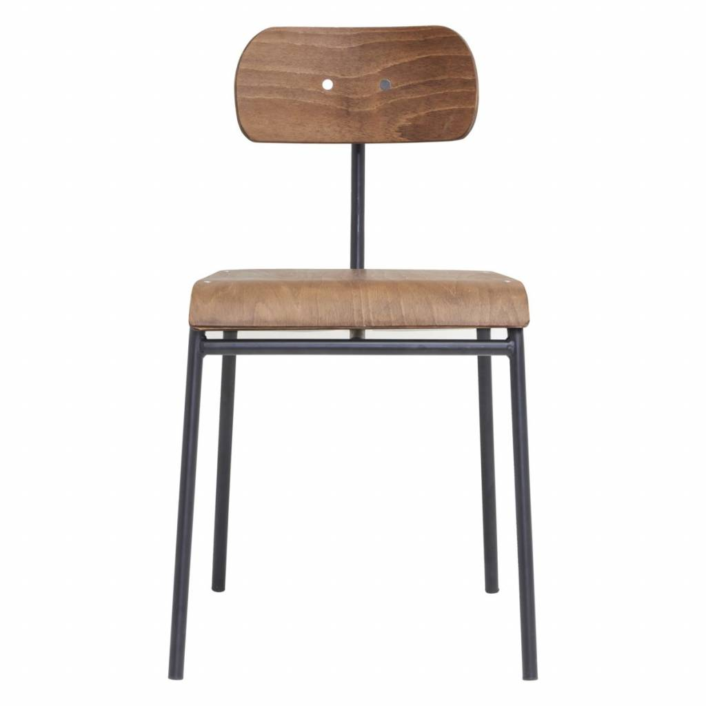 House Doctor Dining chair school - brown  - House Doctor