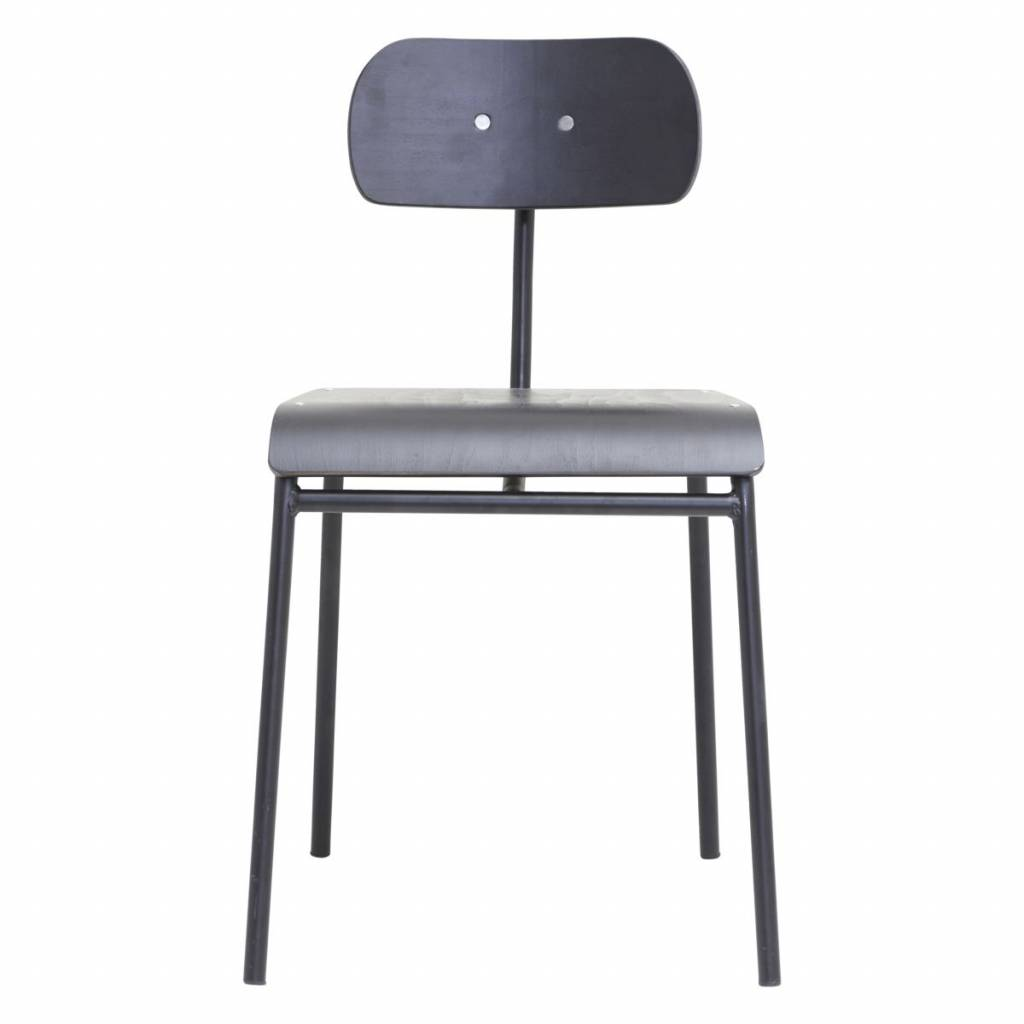 House Doctor Dining chair school - black  - House Doctor