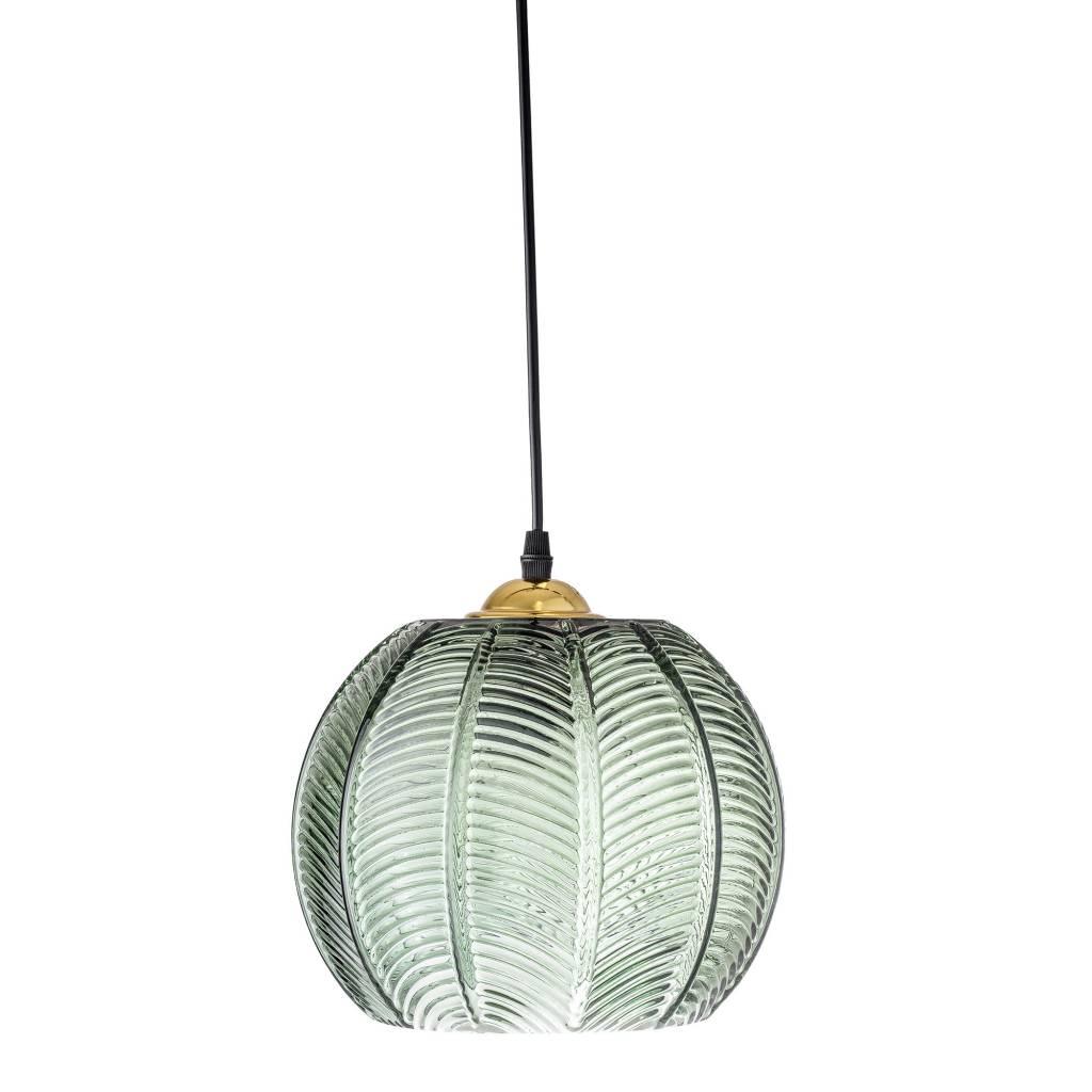 lampe suspension en verre vert 23xh18 bloomingville. Black Bedroom Furniture Sets. Home Design Ideas