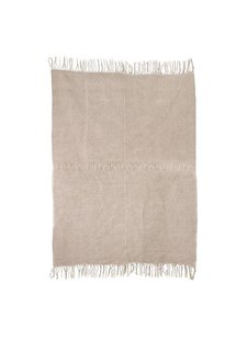 HK Living Linen Rug with anti slip - natural - 155x215cm - HK Living