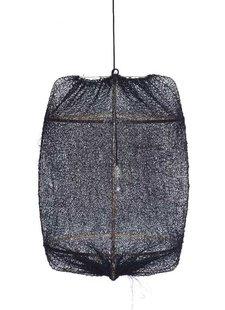 Ay Illuminate Z1 bamboo pendant lamp with Sisal cover - Ø67x100cm - black - Ay illuminate
