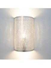 Zenza Lámpara de pared cilondro Filisky - Latón plateado -  17,5xh30cm - Zenza Home