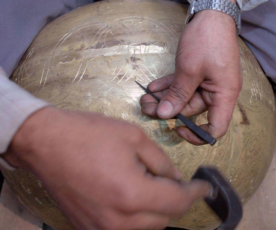 Zenza Pendant Lamp Twist Filigros - silver - Zenza