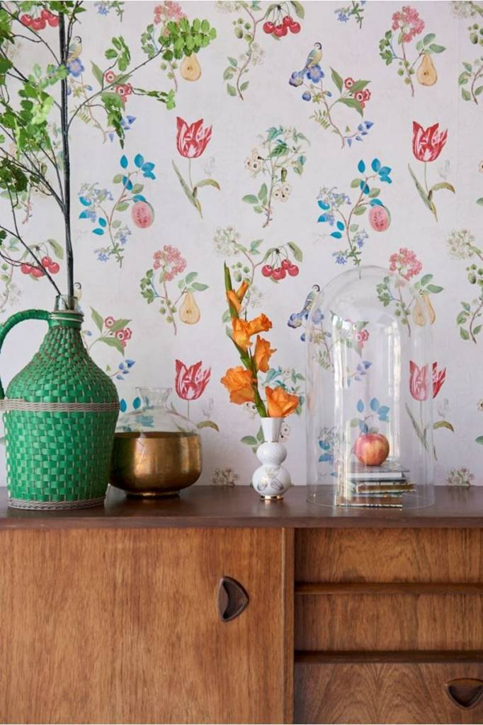 Pip Studio  Wallpaper - Cherry PiP - Pip Studio