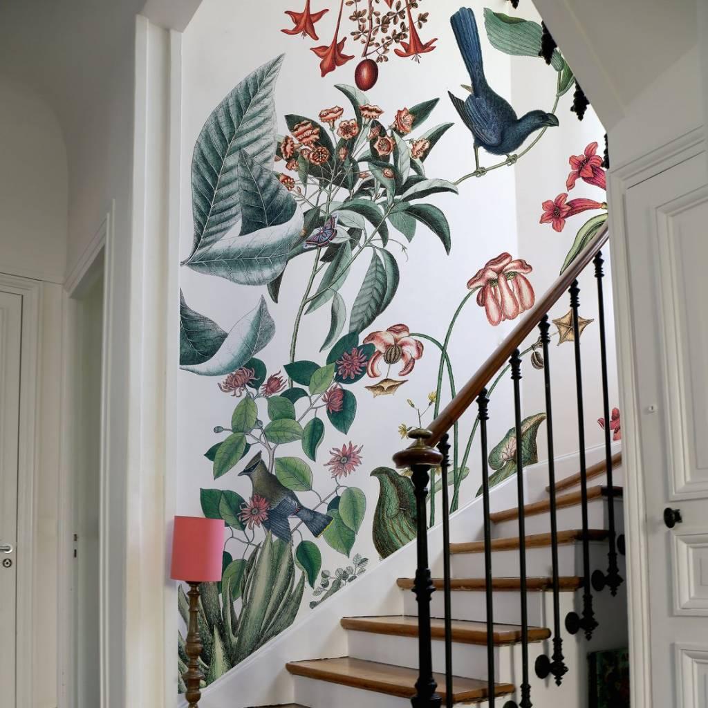 poster papier peint bahamas 274 2xh280cm bien fait. Black Bedroom Furniture Sets. Home Design Ideas