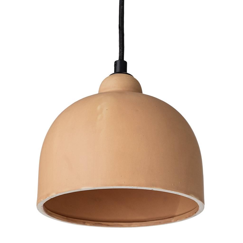 Bloomingville lámpara de techo en gres - Ø18xH15,5 - Rose - Bloomingville
