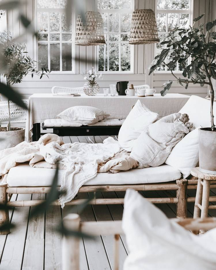 Can it get any more 'hygge' than this? Adapt to this 'quality of lifestyle' that is in harmony with nature.